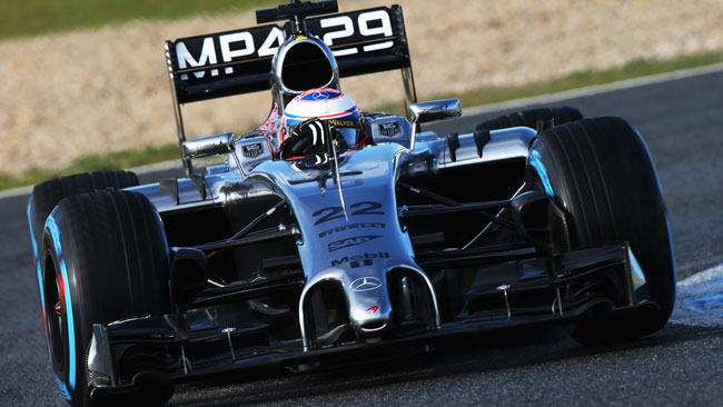 Test Jerez, Day 2, Ore 12: Button al comando