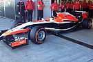 Ecco la Marussia MR03 a motore Ferrari!