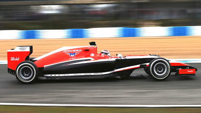 Marussia MR03 - Ferrari con l'intercooler ad acqua!