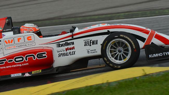 Luca Ghiotto in Formula Renault 3.5 con Draco