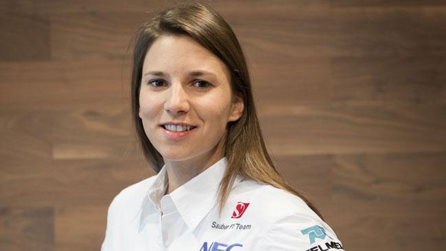 Sorpresa: Simona De Silvestro si lega alla Sauber!