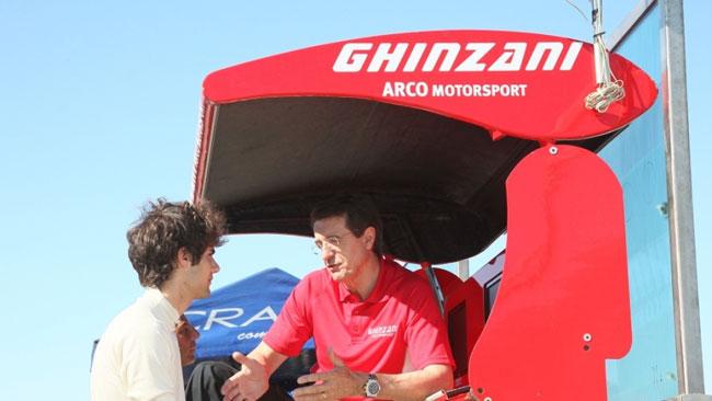 Il Team Ghinzani si lancia nelle corse GT