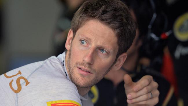 Il debutto pubblico della Lotus E22 spetta a Grosjean