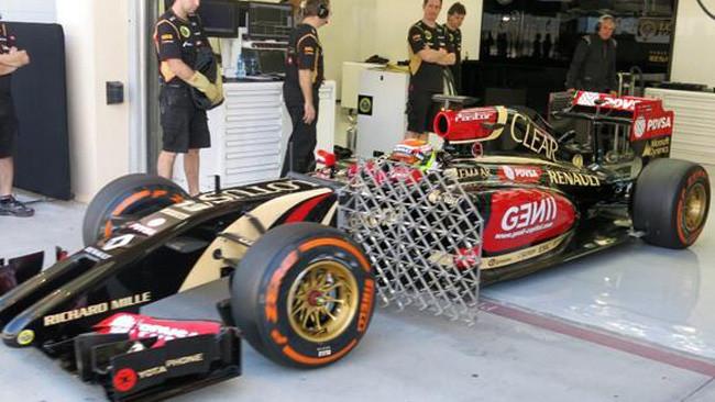 Lotus: prove aerodinamiche con Maldonado