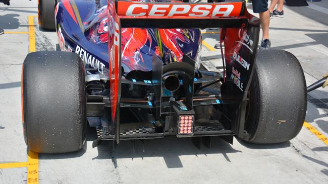 La Toro Rosso restringe il cofano motore