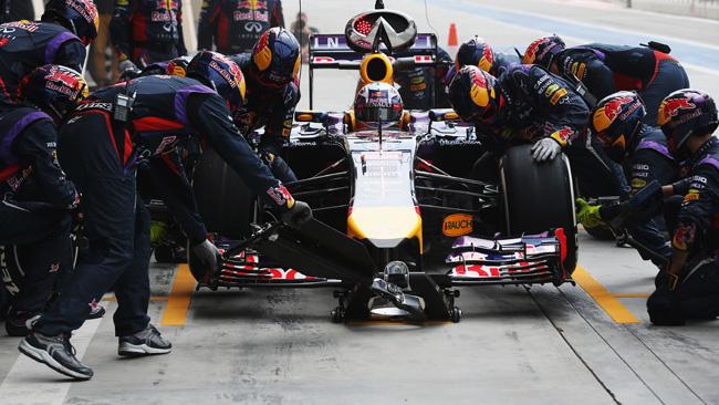 Bahrein, Day 2 (Ore 15,30): un guizzo della Red Bull!