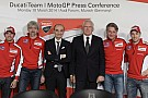 Il Team Ducati MotoGp si presenta all'Audi Forum