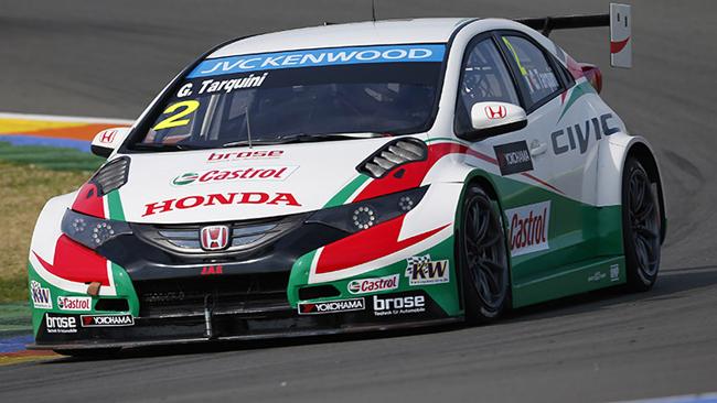 Il Team Honda Castrol prosegue i test