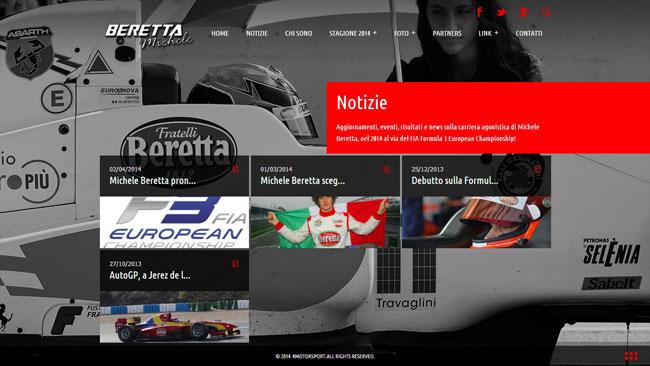 Online il nuovo sito di Michele Beretta