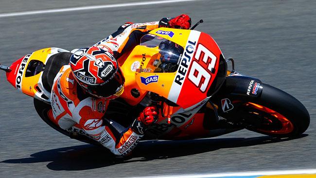 Marquez non si fida del passo di Lorenzo e Rossi