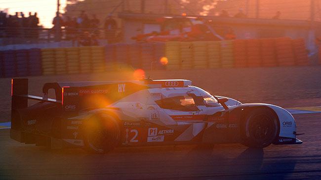 Le Mans, 16° Ora: doppietta Audi alle luci dell'alba