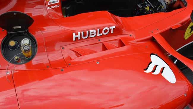 Ferrari: sfoghi asimmetrici ai lati dell'abitacolo