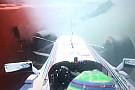 Silverstone, Libere 1: Rosberg svetta e Massa sbatte!