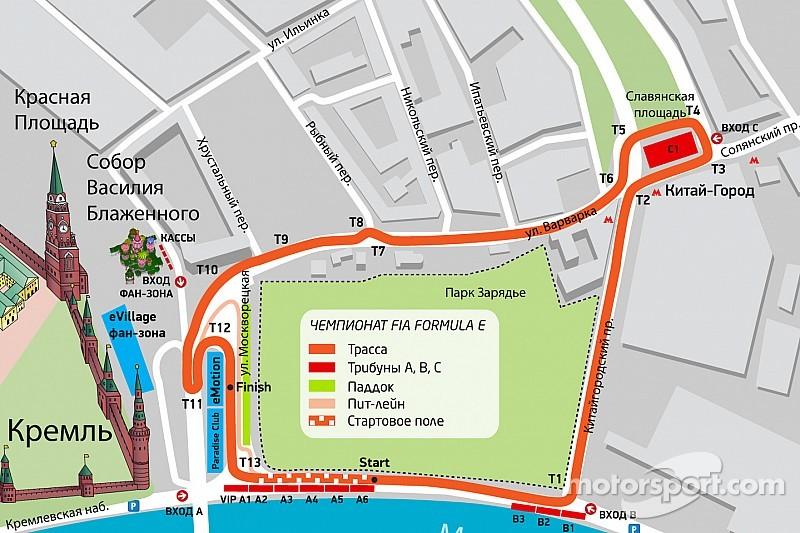 FIA проверила московскую трассу Формулы Е