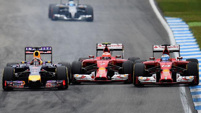 Vettel mette dietro Ricciardo: non accadeva da Sepang