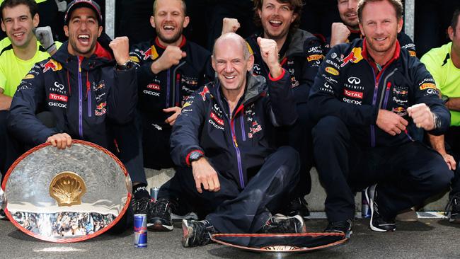 E' la 50esima vittoria di Red Rull Racing con Renault