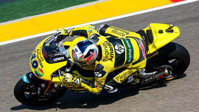 Prima pole in Moto2 per Maverick Vinales ad Aragon