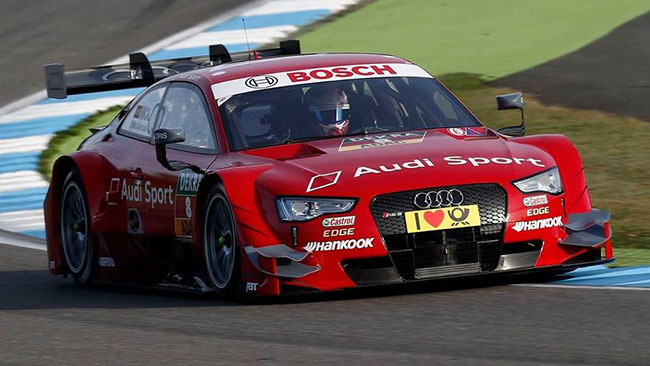 Dominio Audi a Hockenheim, Molina in pole!