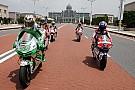 Hayden sfila nel centro di Putrajaya con la sua Honda