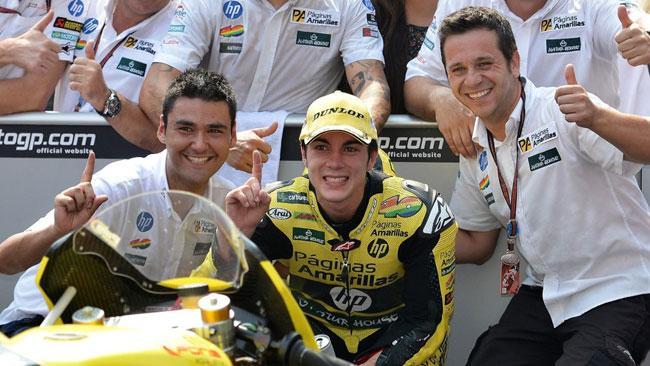 Vinales segna il record di punti per un rookie in Moto2