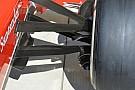 Ferrari: restano tre pinne sulla brake duct anteriore