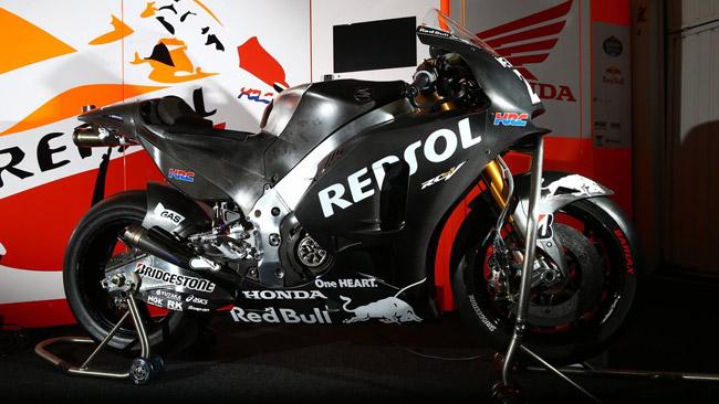 Sulle Honda HRC c'è già il marchio Red Bull