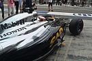 Finalmente la McLaren-Honda è andata in pista!