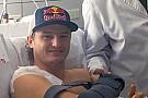 Jack Miller operato alla clavicola destra