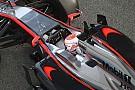 Primi due giri con la McLaren-Honda per Button
