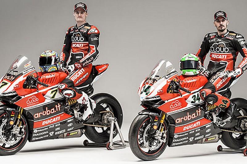 Presentato il team Aruba.it Racing Ducati Superbike