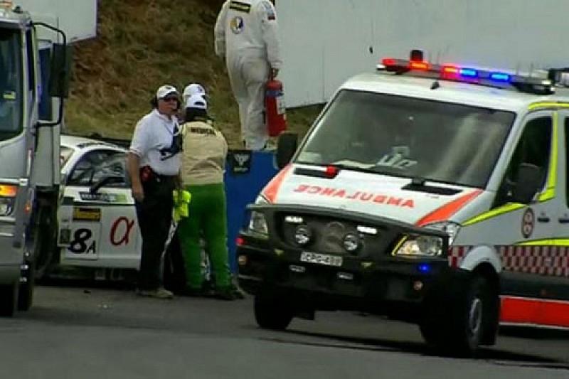 David Brabham all'ospedale per accertamenti