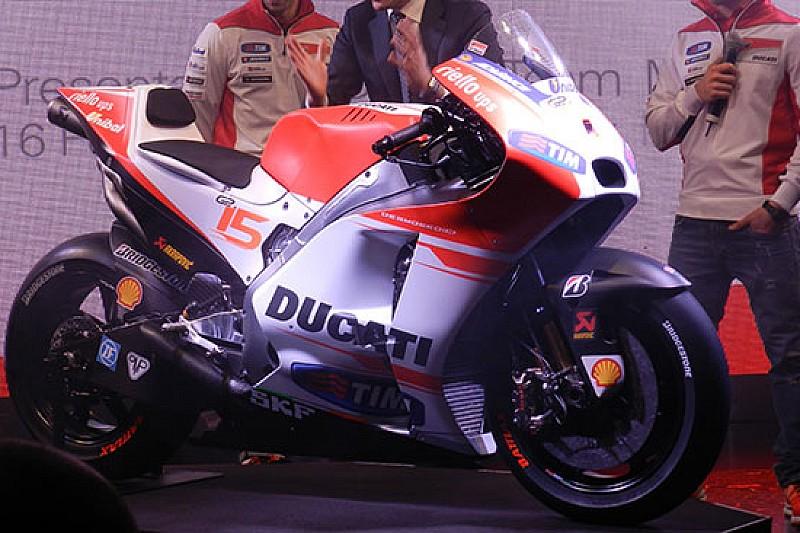 Ecco la nuova Ducati Desmosedici GP15!