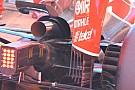 Ferrari: il supporto del mono pilone è sotto al cofano