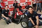Vettel ospite ad un evento Santander in Germania