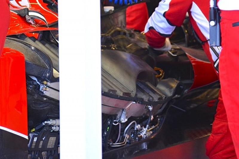 Ferrari: è cambiata la disposizione dei radiatori