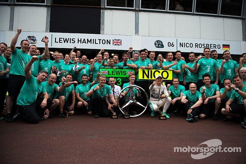 Monaco GP: Rosberg wins again, Hamilton denied by pitstop blunder