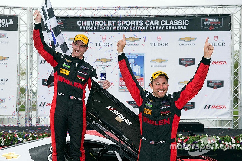 Cameron, Curran take first win in Action Express Prototype