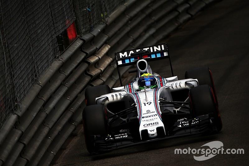 Massa afirma que Williams não corre os mesmos riscos de Mônaco