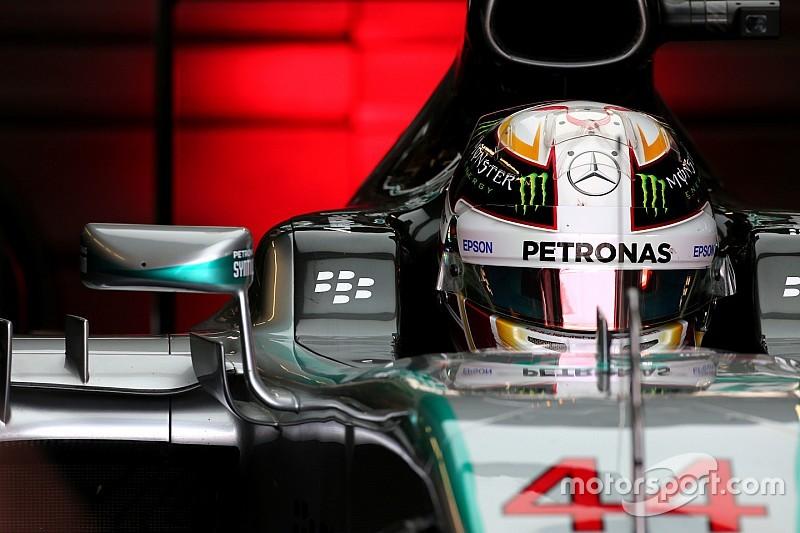 Mercedes justifie l'accident de Hamilton
