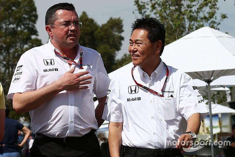 McLaren готова помочь Honda ресурсами