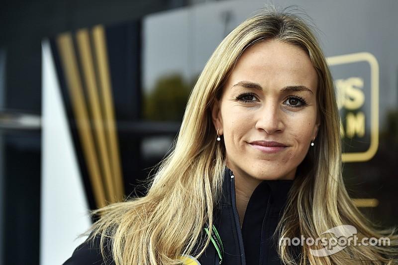 Mitch Evans frustré de voir Carmen Jordá en F1