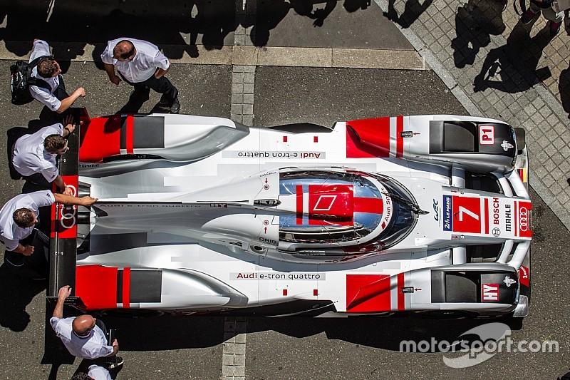 Audi ne chassera pas la pole face à Porsche