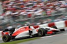 Manor says F1 engine plans