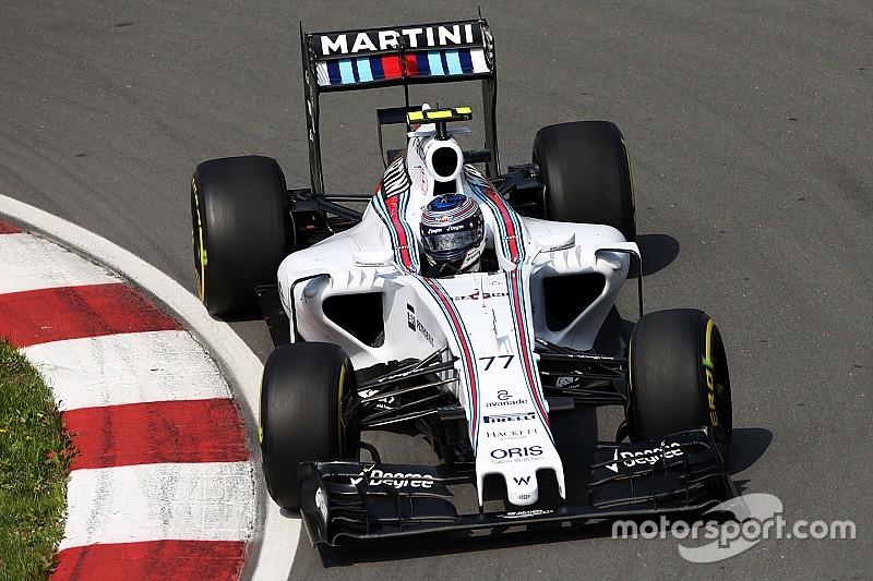 Williams vise le haut de la grille en Autriche