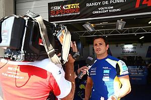 WSBK Preview Randy de Puniet entrevoit le bout du tunnel