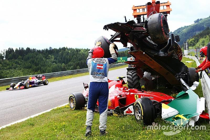 Relieved Alonso says Raikkonen spun on his own
