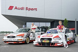 DTM Breaking news Audi celebrates anniversary at Norisring