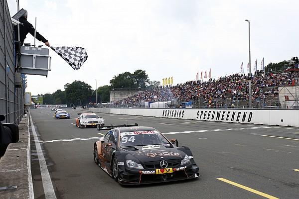Wehrlein triunfa y Mercedes domina en DTM