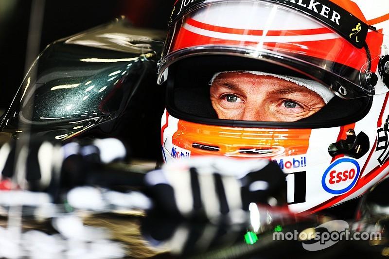 Jenson Button dirige McLaren MP4/6 de Ayrton Senna