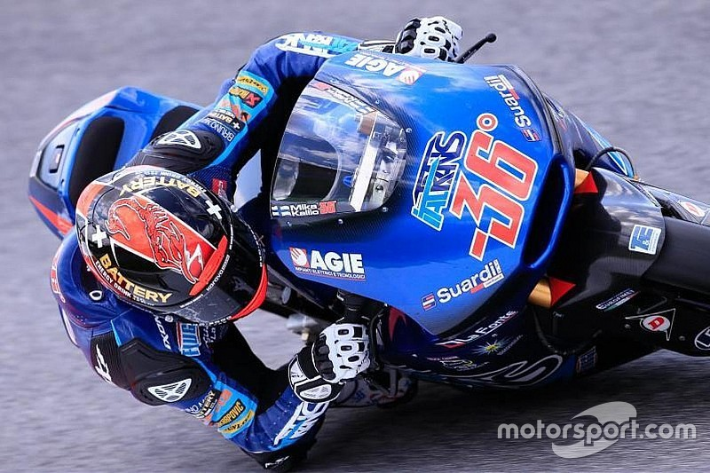 Moto2: Em sessão bem acidentada, Mika Kallio termina na frente
